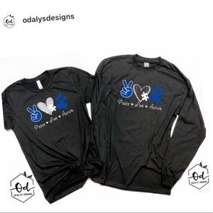 Autism Shirts. Any size any color